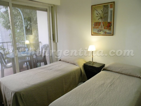Pe�a and Azcuenaga II: Furnished apartment in Recoleta