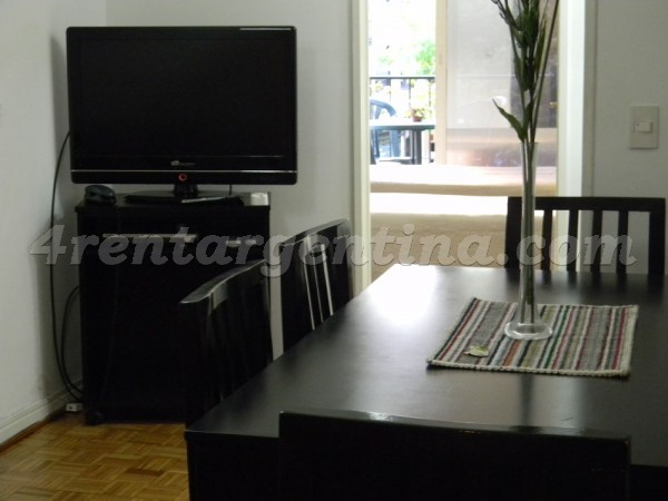 Pe�a and Azcuenaga II, apartment fully equipped