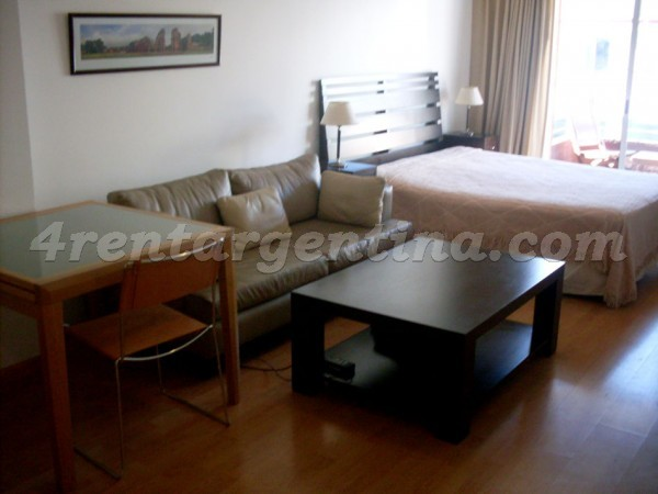 Austria and Melo VIII: Furnished apartment in Recoleta
