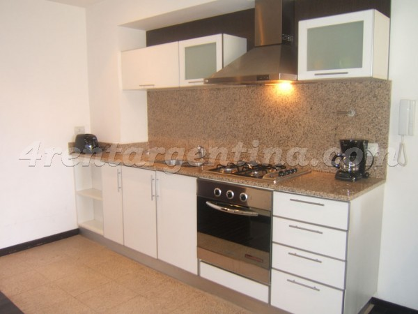 Miro and Directorio, apartment fully equipped