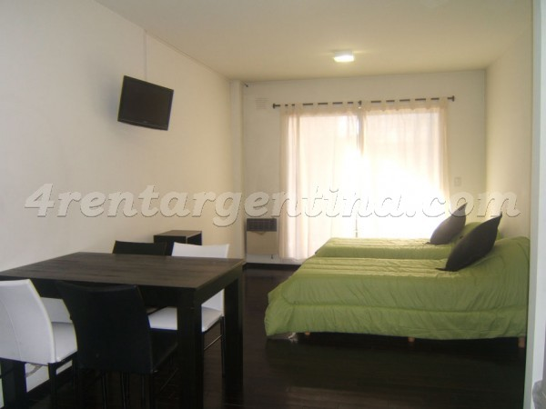 Miro and Directorio: Furnished apartment in Caballito