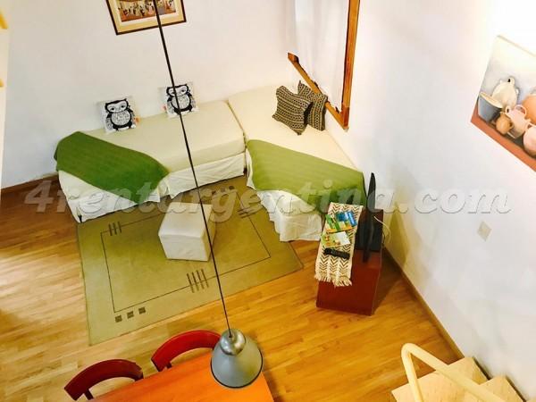 Aluguel de Apartamento em Mexico e Peru, San Telmo