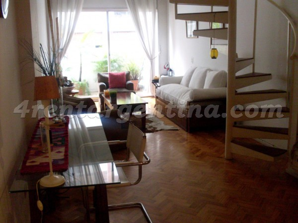 Uruguay and Juncal, apartment fully equipped