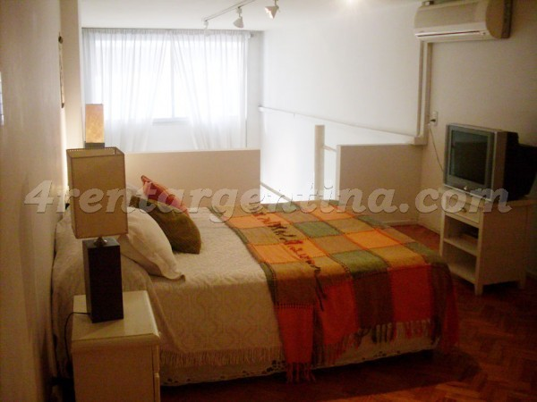 Uruguay and Juncal: Apartment for rent in Buenos Aires