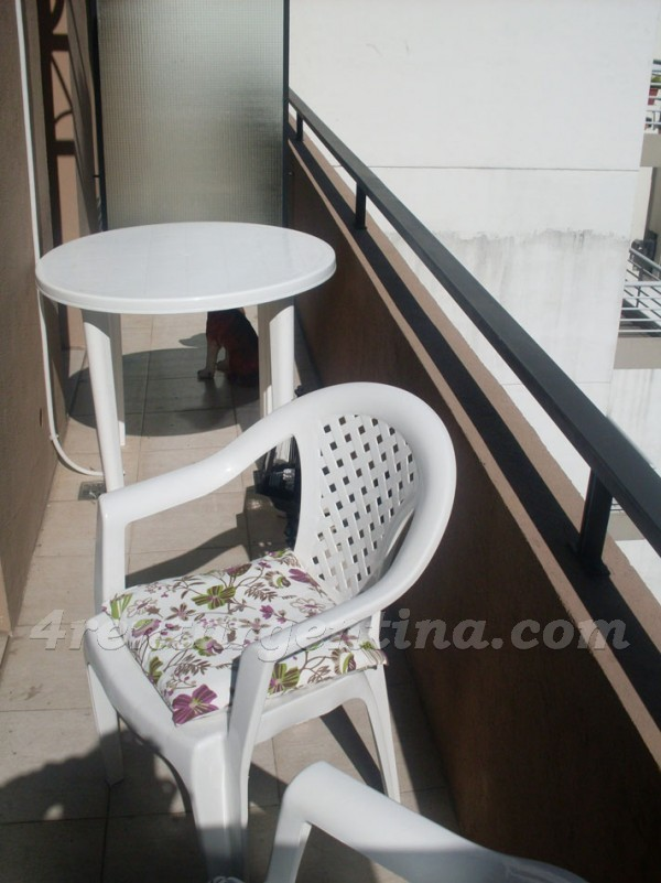 Azcuenaga and Pe�a I: Furnished apartment in Recoleta