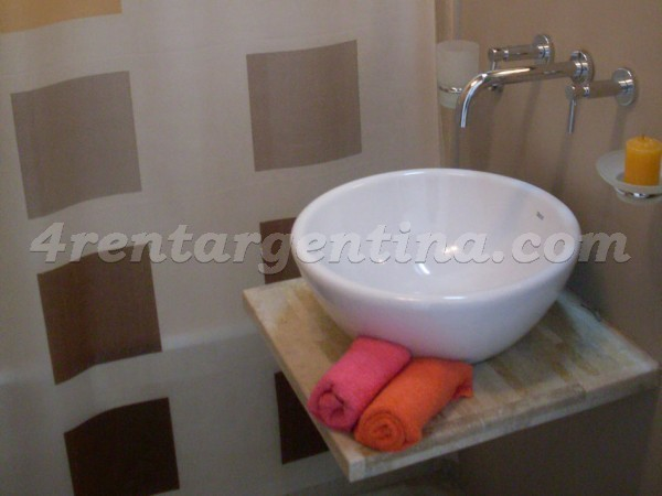 Azcuenaga and Pe�a I: Apartment for rent in Recoleta