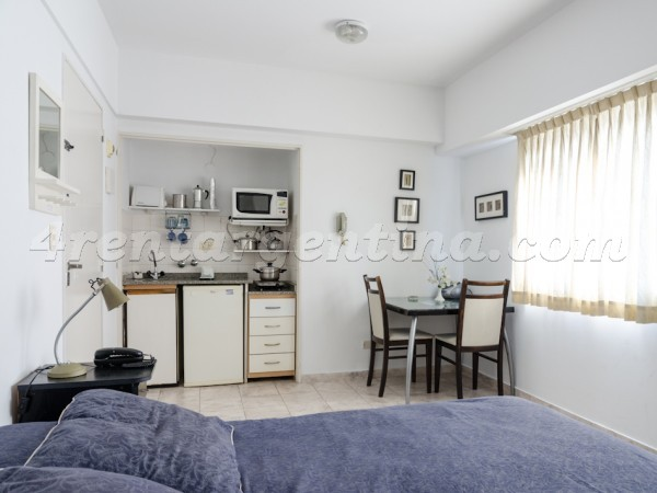 Azcuenaga and Guido: Apartment for rent in Recoleta