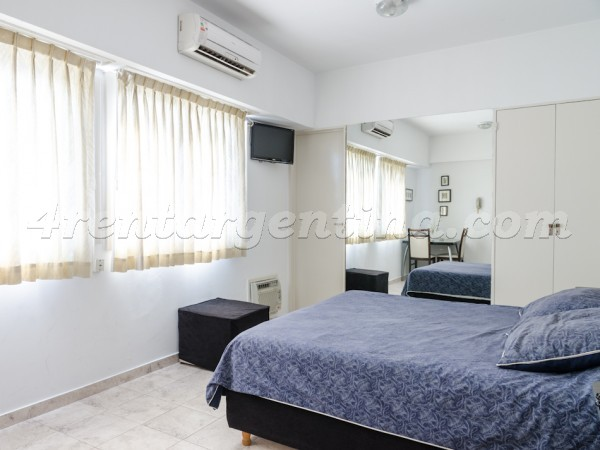 Azcuenaga et Guido: Furnished apartment in Recoleta