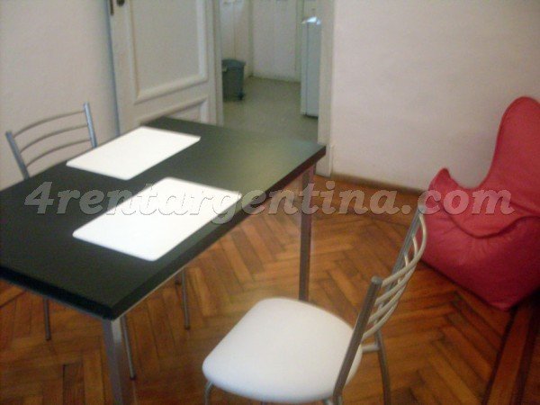 Corrientes and Uruguay I: Apartment for rent in Buenos Aires