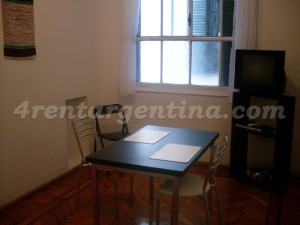 Corrientes and Uruguay I: Apartment for rent in Downtown