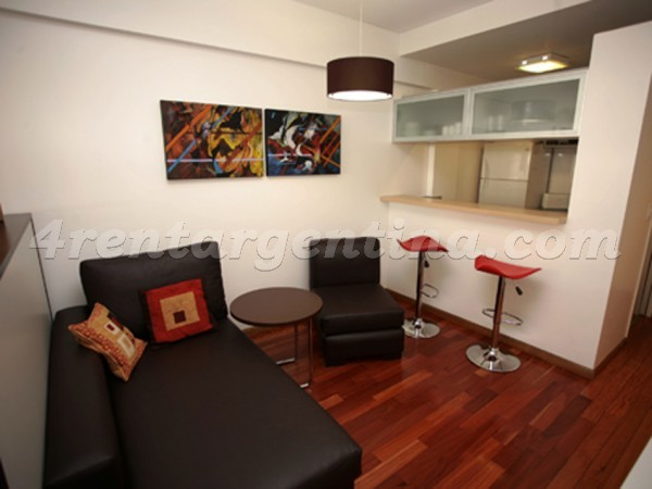 Bulnes and Las Heras I, apartment fully equipped
