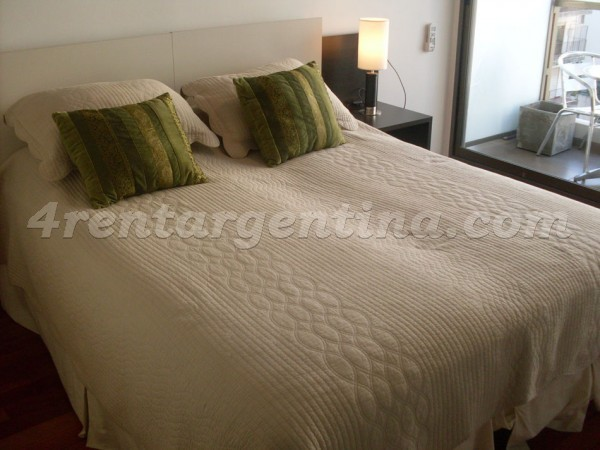 Bulnes and Las Heras I: Furnished apartment in Palermo