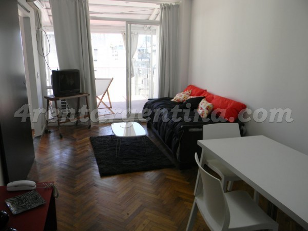 Uruguay and Peron, apartment fully equipped