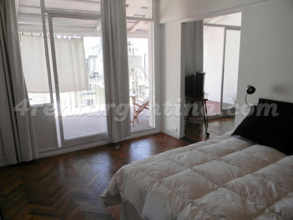 Uruguay and Peron: Furnished apartment in Downtown