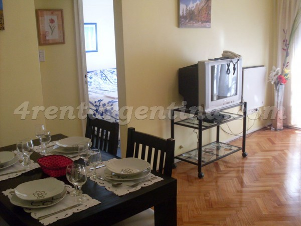 Vidal and Juramento, apartment fully equipped