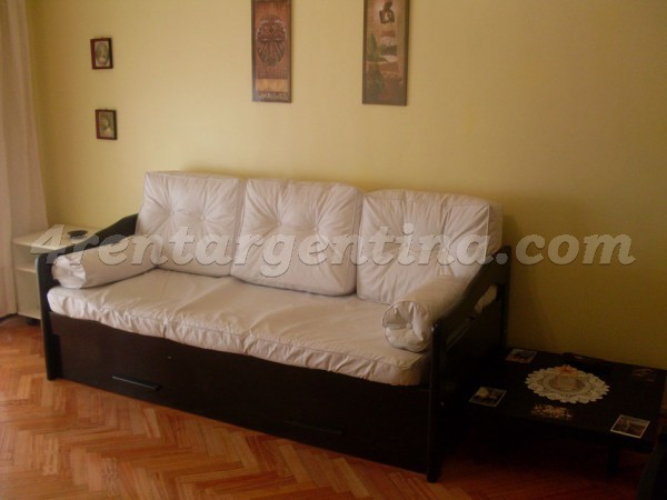 Vidal et Juramento: Furnished apartment in Belgrano