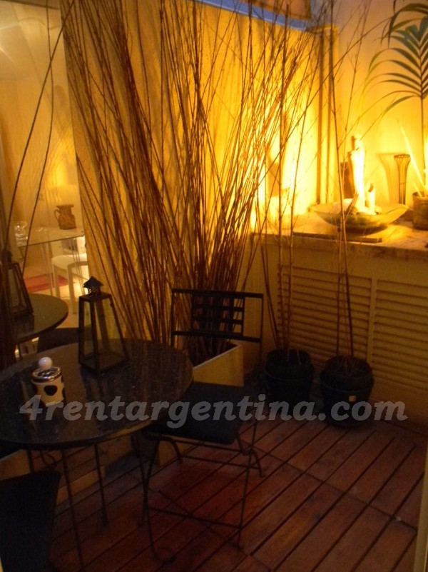 Quintana et Rodriguez Pe�a: Apartment for rent in Recoleta