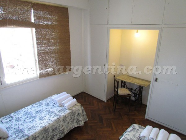 Apartment Montevideo and Rivadavia - 4rentargentina