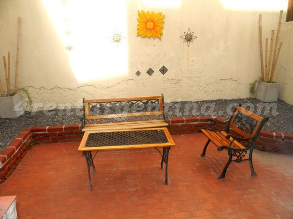 Charcas et Borges I, apartment fully equipped