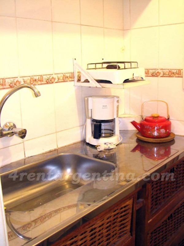 Reconquista and Viamonte I, apartment fully equipped