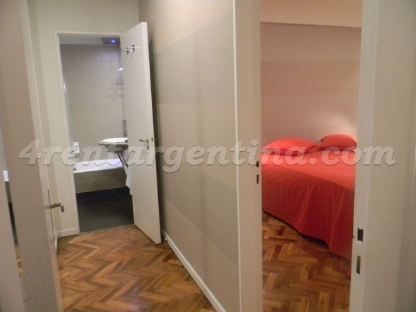 Libertador and Salguero, apartment fully equipped