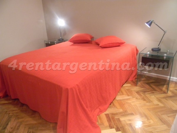 Libertador and Salguero: Furnished apartment in Palermo