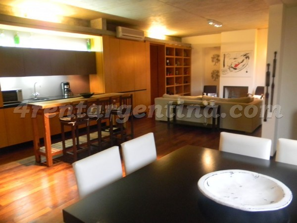 San Martin de Tours et Tedin: Furnished apartment in Palermo
