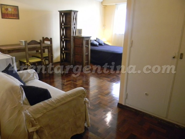 Laprida and French I: Furnished apartment in Recoleta