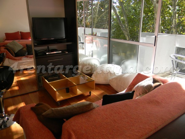 11 de Septiembre and Congreso: Furnished apartment in Belgrano