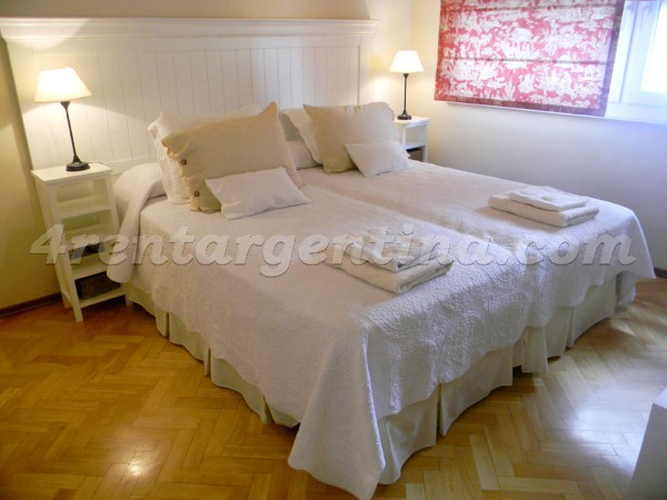 Las Heras and Bustamante: Furnished apartment in Recoleta