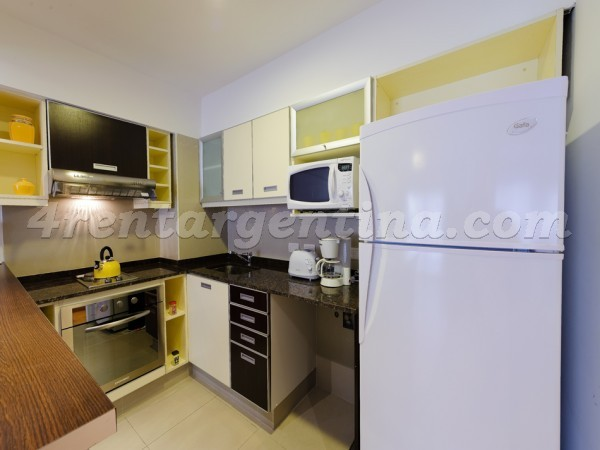 Senillosa and Rosario I: Furnished apartment in Caballito