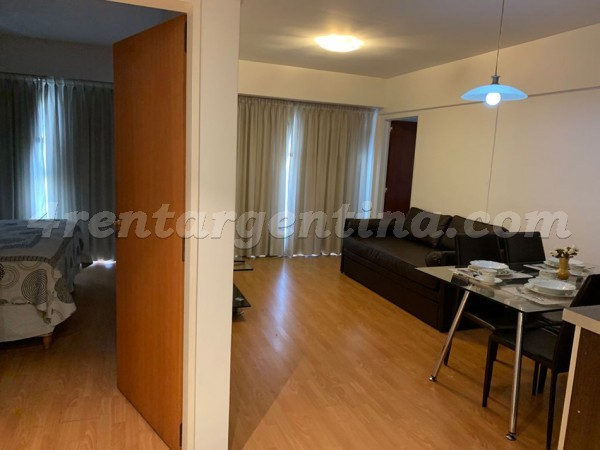 Senillosa and Rosario III: Furnished apartment in Caballito