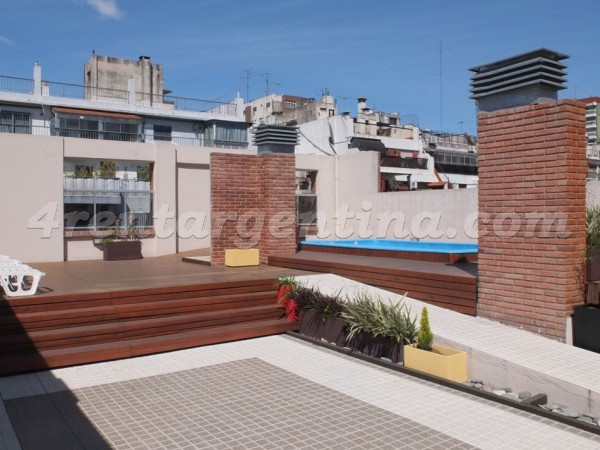 Senillosa and Rosario III: Apartment for rent in Caballito