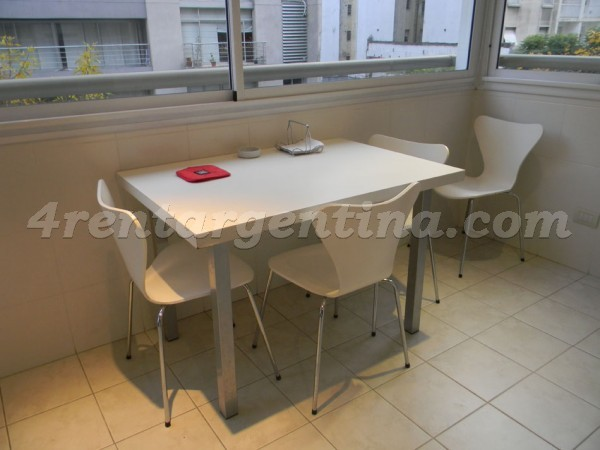 Baez et Rep. de Eslovenia I: Apartment for rent in Buenos Aires