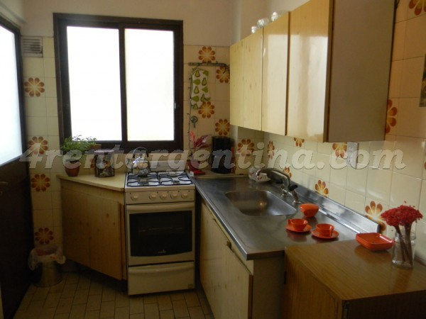 Cabildo and Ugarte, apartment fully equipped