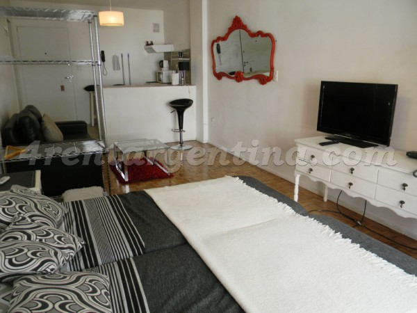 Billinghurst and Paraguay II: Furnished apartment in Palermo