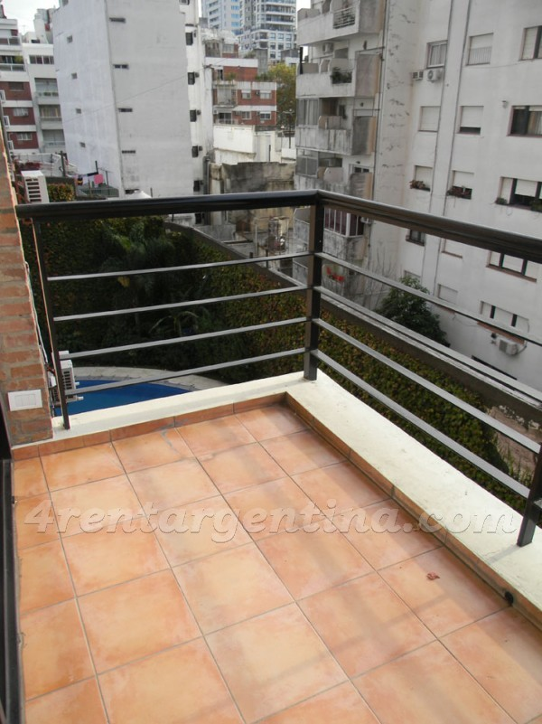 Gurruchaga and Charcas IV, apartment fully equipped