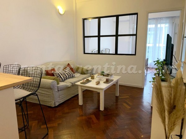 Guemes and Billinghurst: Apartment for rent in Palermo