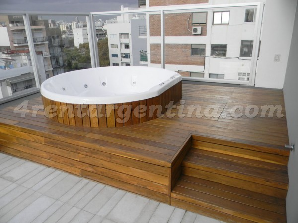 Oro et Paraguay I: Furnished apartment in Palermo