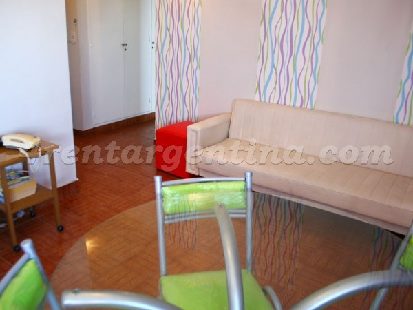 Washington and Congreso, apartment fully equipped