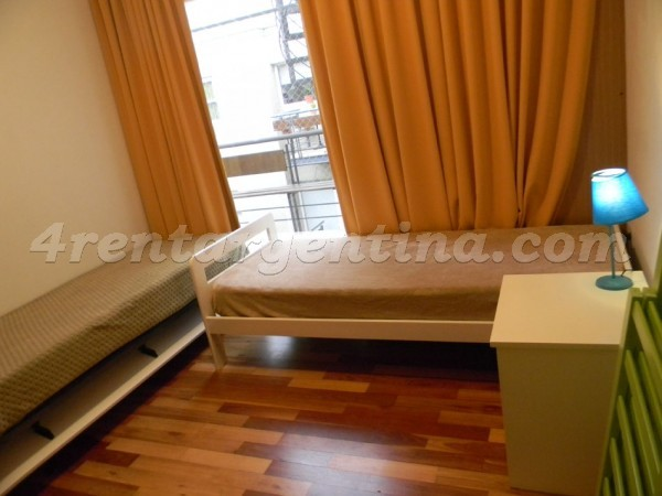 Delgado and Cespedes: Furnished apartment in Belgrano