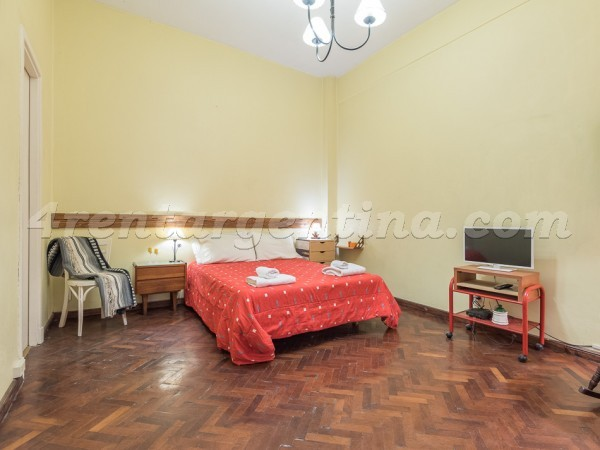 Montevideo et Corrientes I: Furnished apartment in Downtown