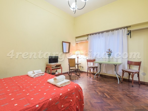 Montevideo and Corrientes I: Furnished apartment in Downtown