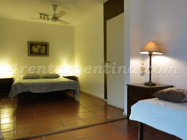 Cramer and Virrey del Pino II: Furnished apartment in Belgrano