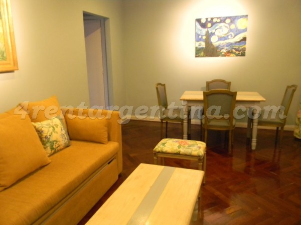 Moreno and Piedras I: Furnished apartment in Downtown
