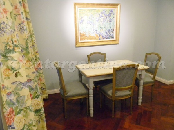 Moreno and Piedras II, apartment fully equipped