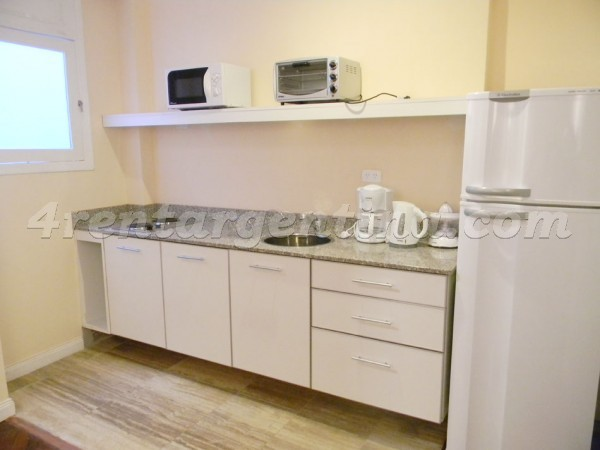 Moreno and Piedras VI, apartment fully equipped