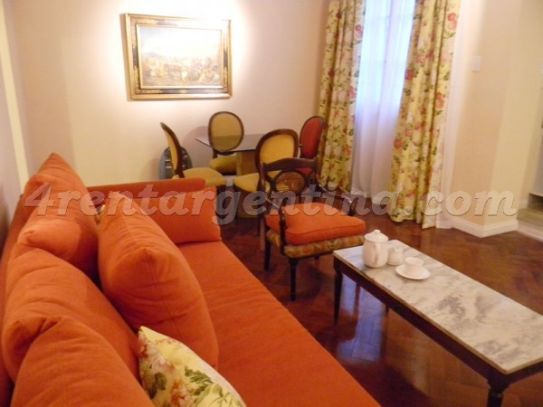 Moreno and Piedras VI: Furnished apartment in Downtown