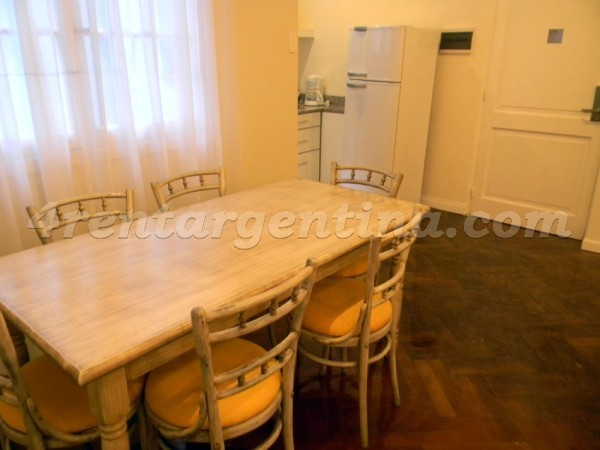Moreno and Piedras IX, apartment fully equipped