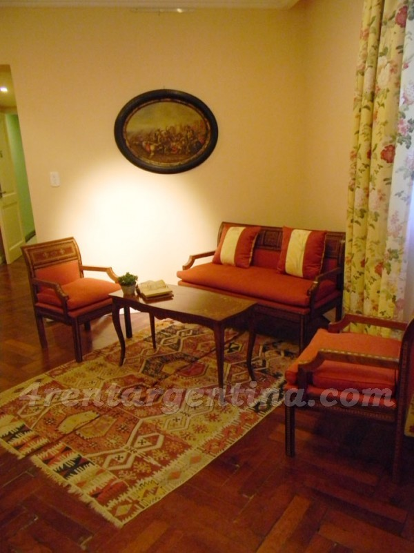 Moreno and Piedras VIII, apartment fully equipped